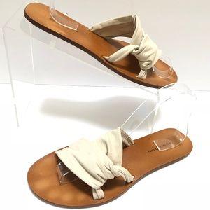 Bottega Veneta Leather Sandals Slides Shoes 38